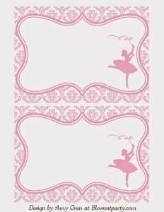 3214325580 Convite de bailarina  50 imagens e modelos para caprichar nos convite!
