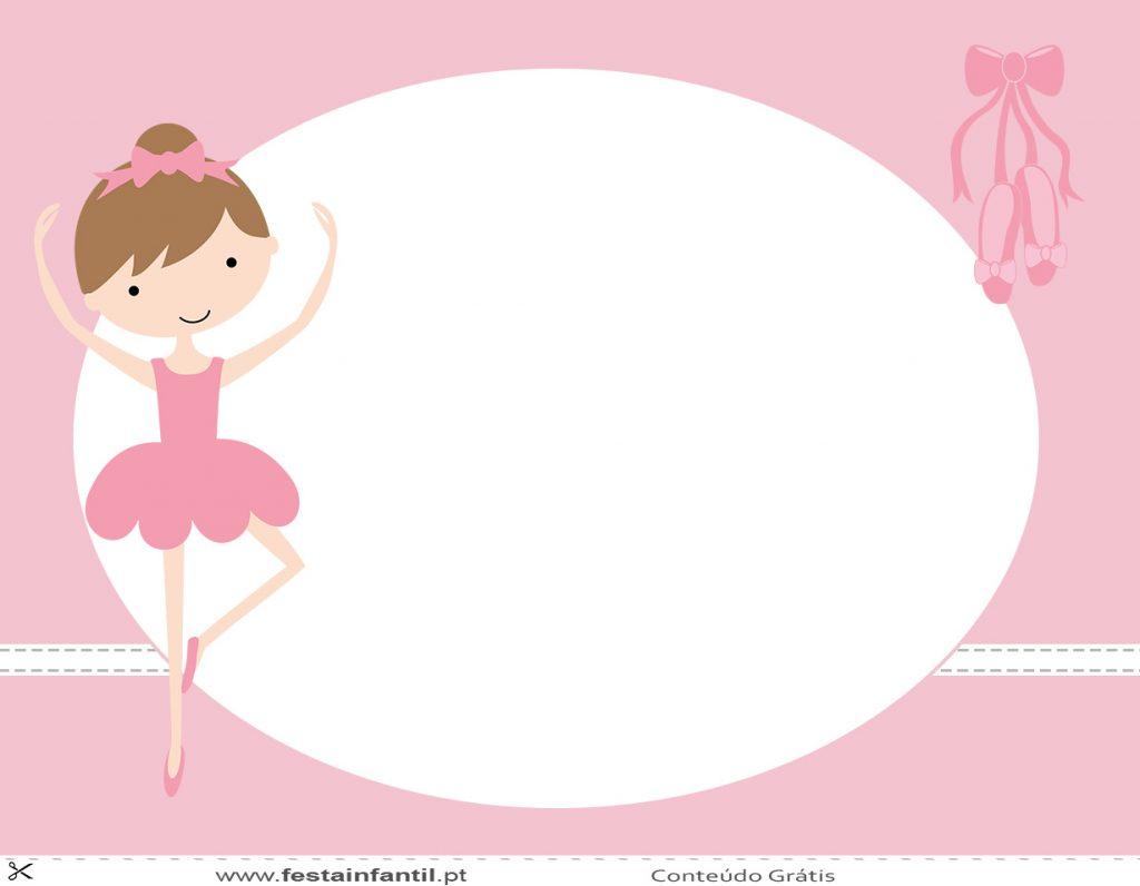 Convite De Bailarina 50 Imagens E Modelos Para Caprichar Nos Convite