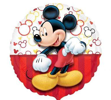 Convite de aniversário do mickey