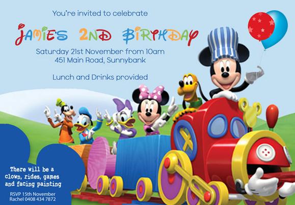 Convite Mickey 67 Ideias De Convite Para Se Inspirar E