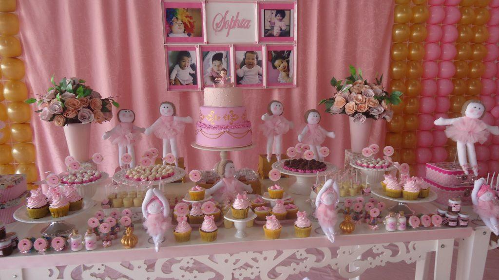 festa infantil bailarina baby