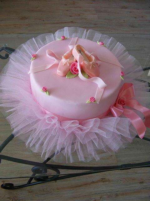 bolo decorado bailarina
