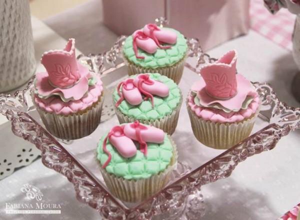 doces para festa bailarina