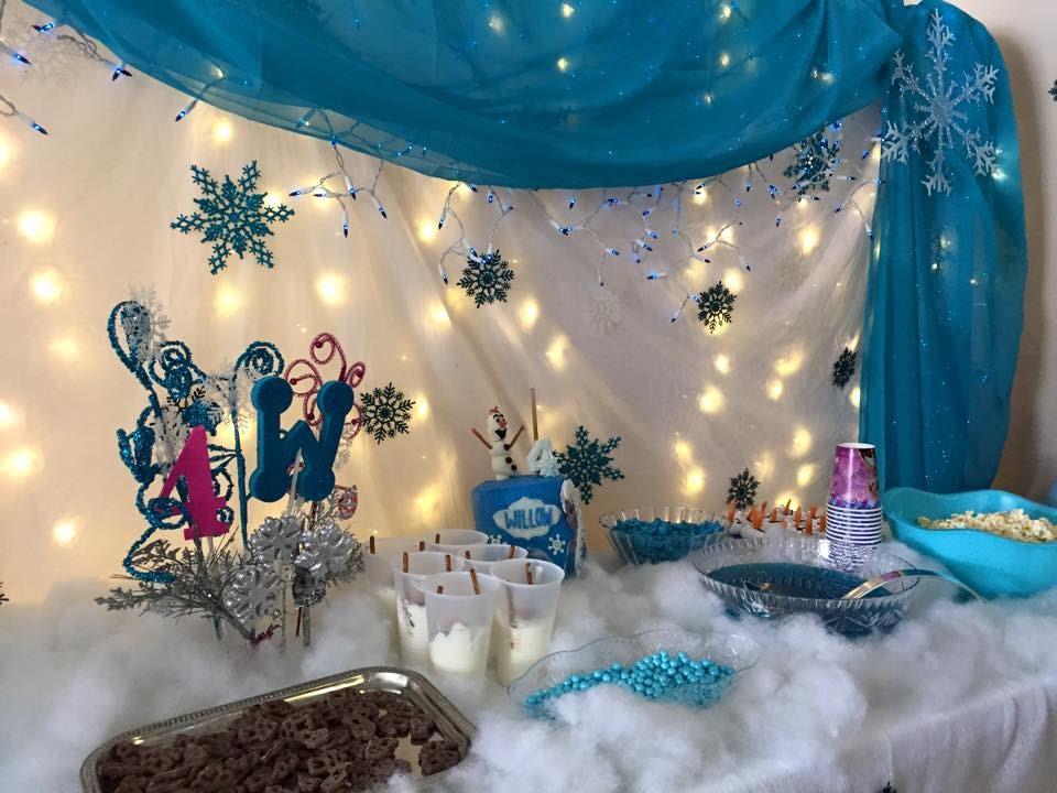 festa frozen simples