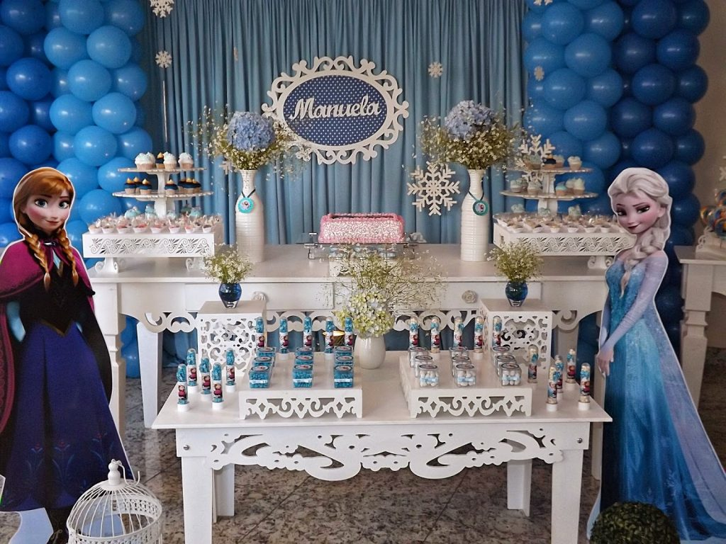 luxury frozen party