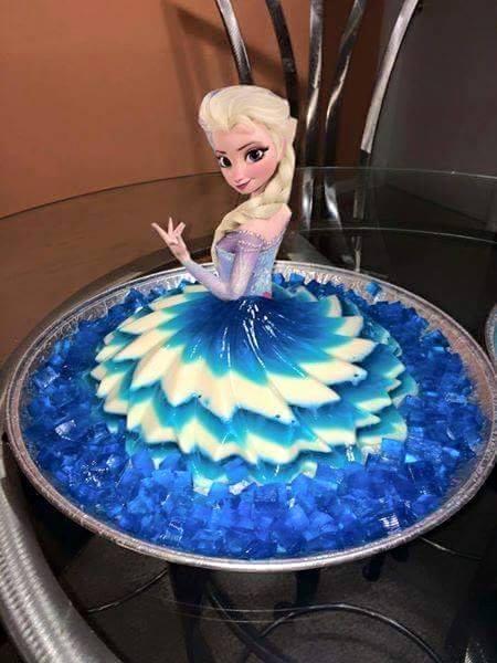 doces para festa frozen