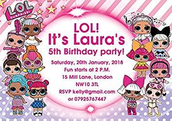 convite festa da lol