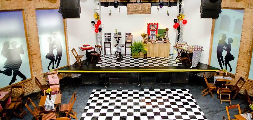 decoração festa boteco