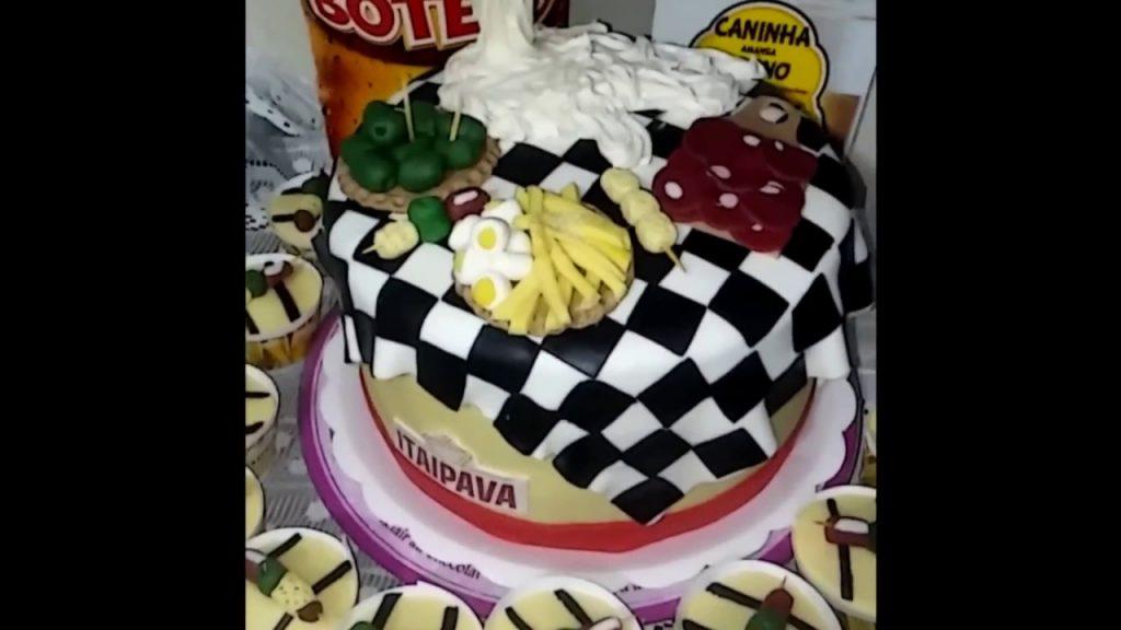 bolo festa do boteco