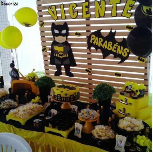 festa infantil do batman