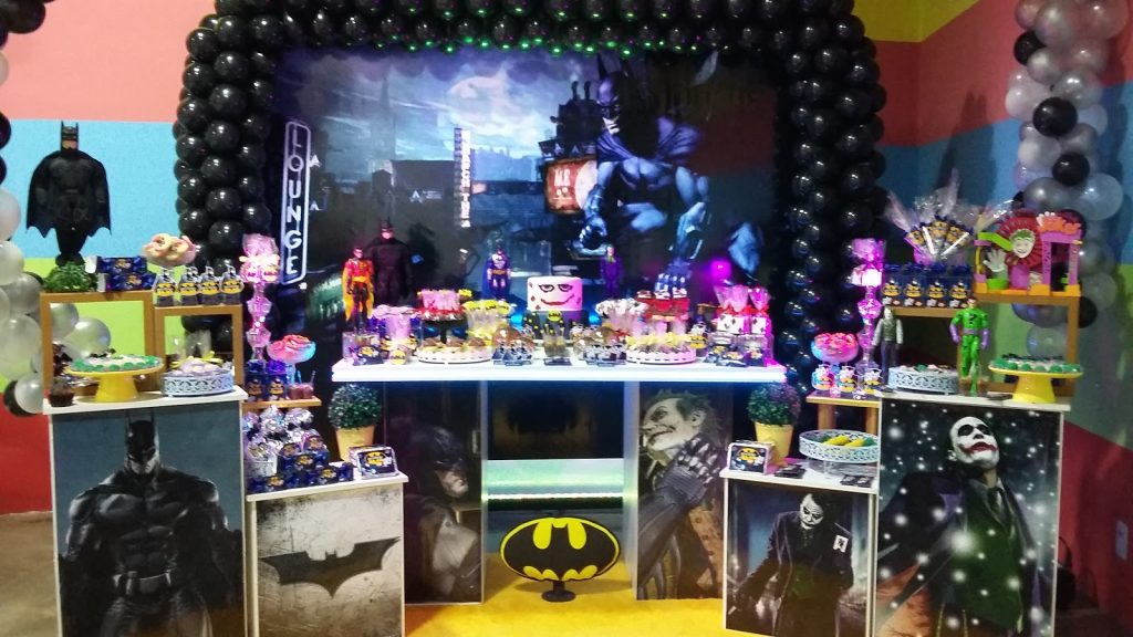 festa batman luxo
