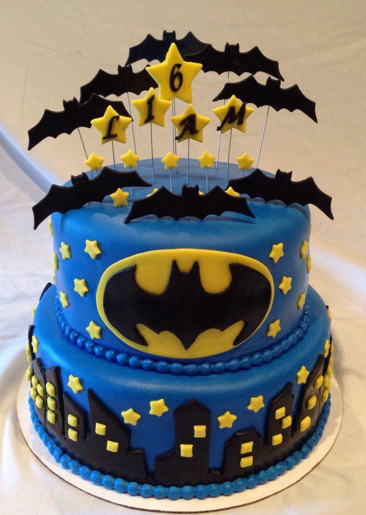 bolo decorado festa batman