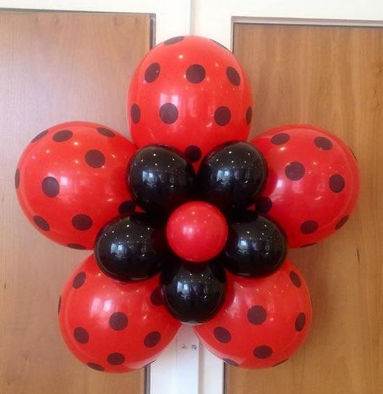 enfeites de festa ladybug