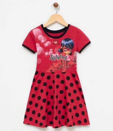 vestido de festa ladybug