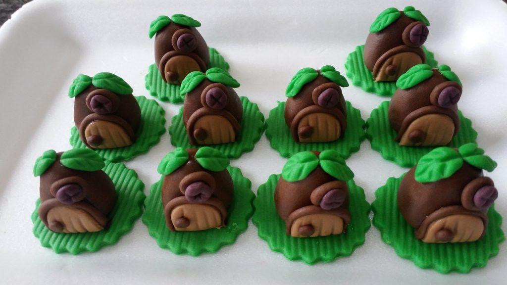 doces para festa marsha e o urso