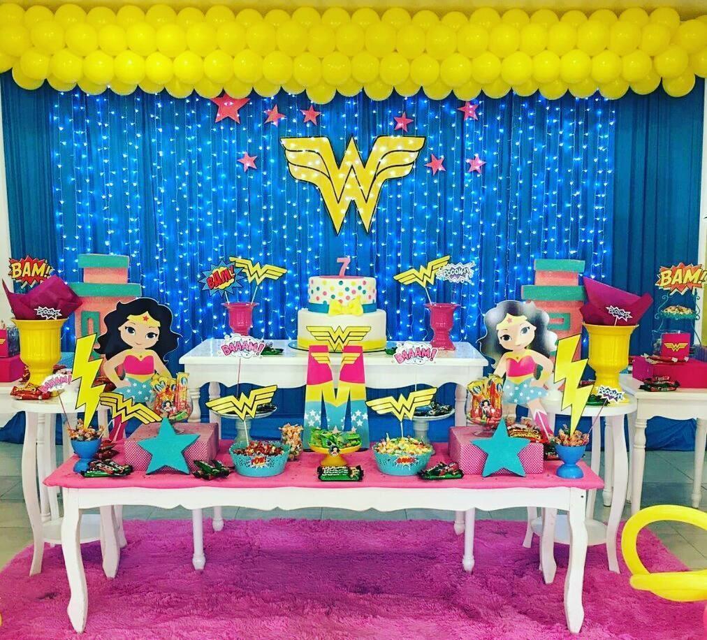 festa mulher maravilha infantil