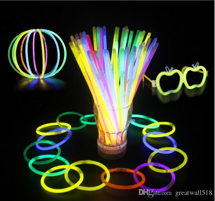 enfeites para festa neon
