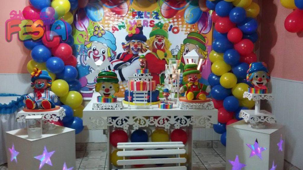 decoração de festa do patati patatá