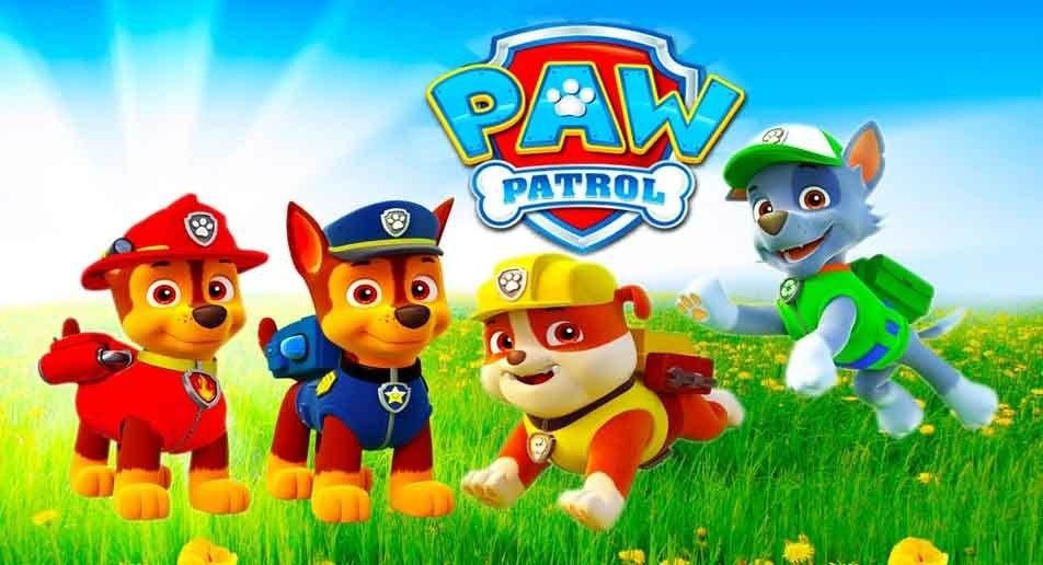 painel de festa patrulha canina