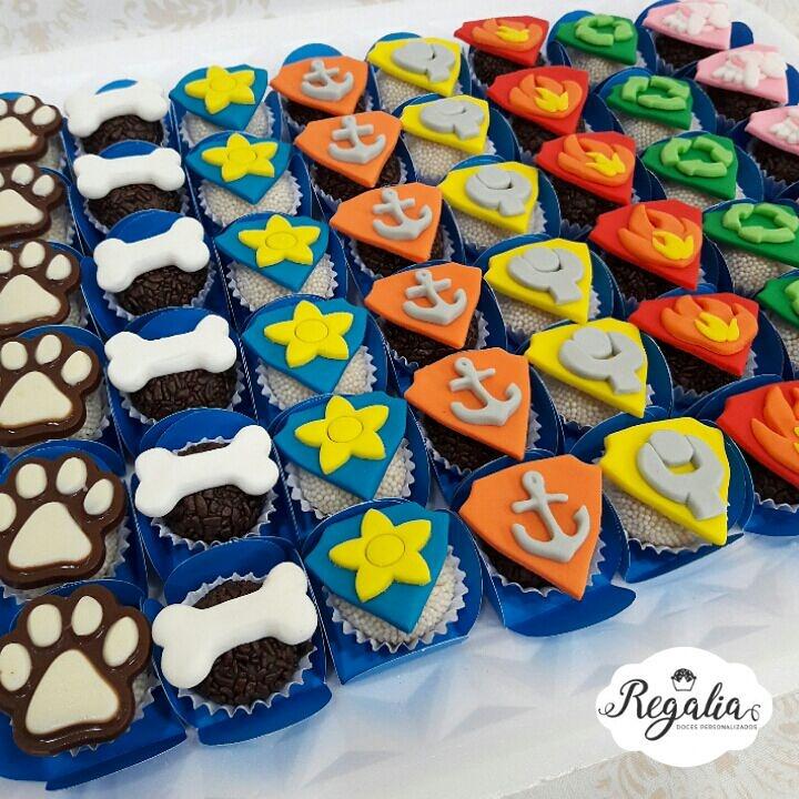 doces festa patrulha canina