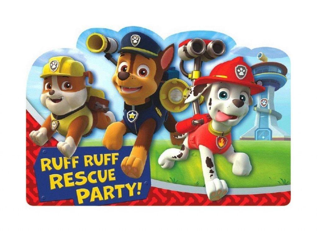 convites festa patrulha canina