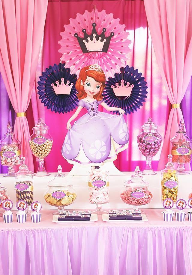 festa princesa sofia simples