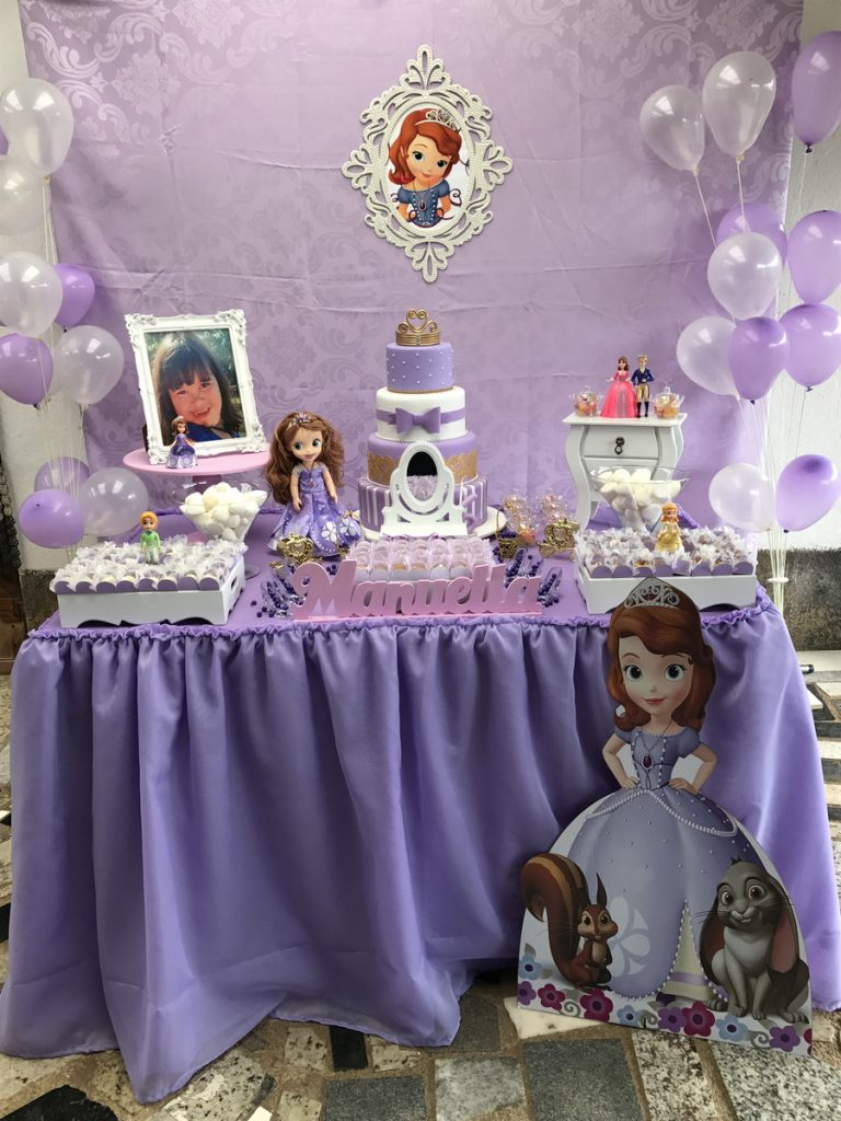 Festa Princesa Sofia 60 Modelos Incríveis Que Vão Ajudar