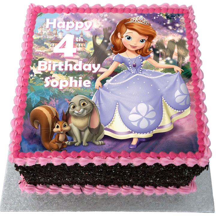 bolo decorado festa princesa sofia