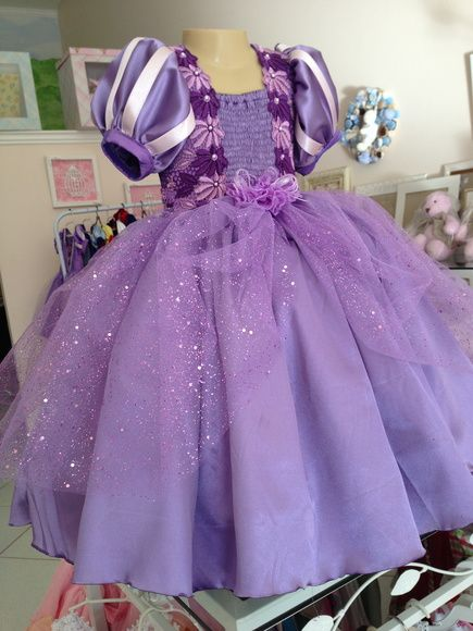 vestido de festa princesa sofia