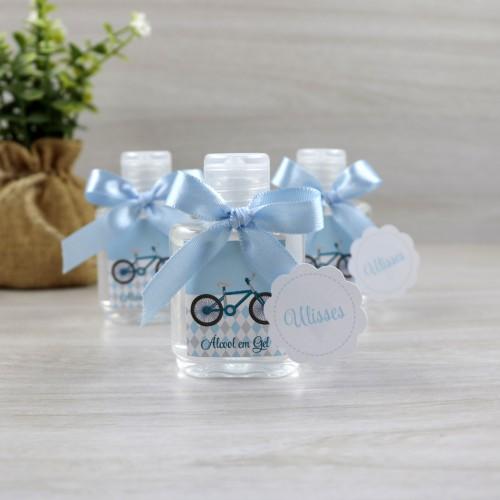 lembrancinha de maternidade álcool gel