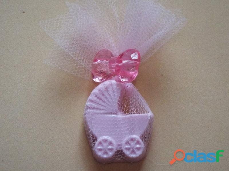 lembrancinha de maternidade sabonete