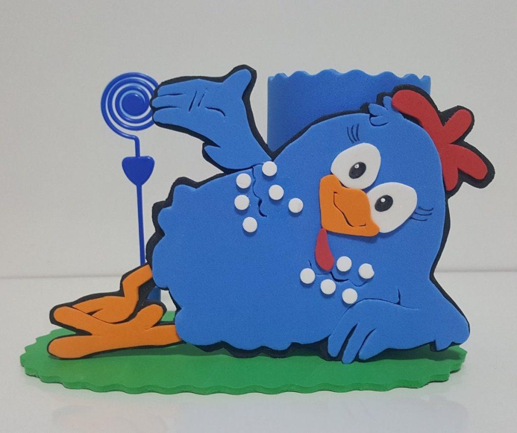 lembrancinha galinha pintadinha Eva