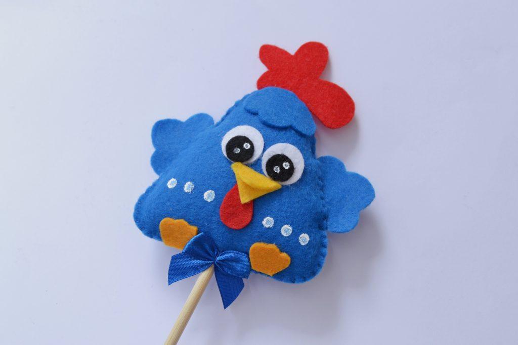 lembrancinha galinha pintadinha feltro