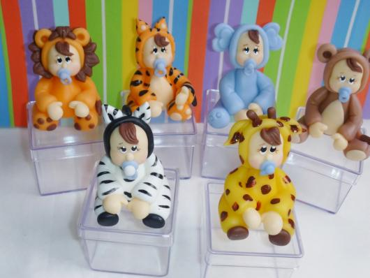 lembrancinha safari biscuit