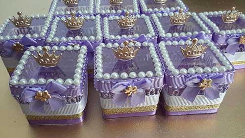 Lembrancinhas da Princesa Sofia simples