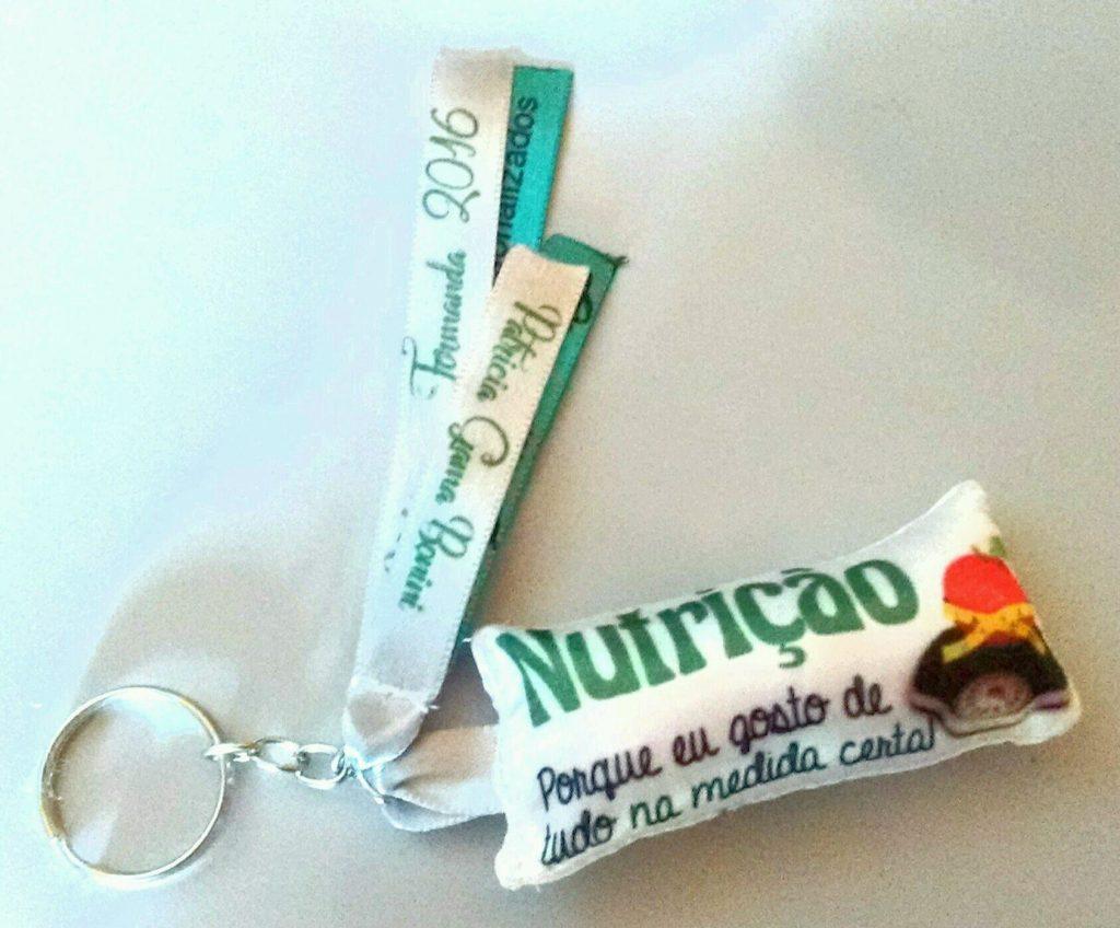 Lembrancinhas de formatura nutrição