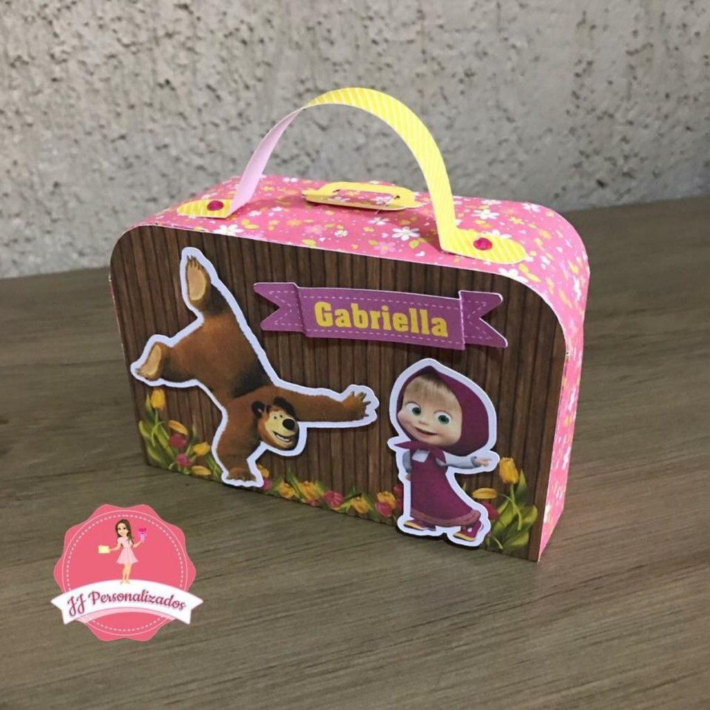 Lembrancinhas personalizadas Masha e o Urso