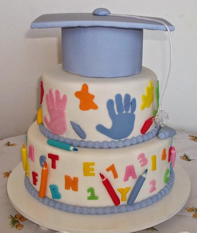 bolo de formatura infantil