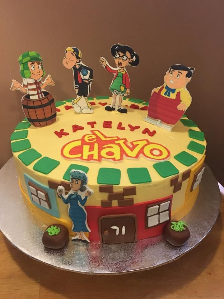 bolo do chaves simples