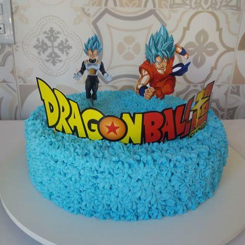 bolo dragon ball simples