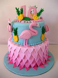 bolo flamingo abacaxi