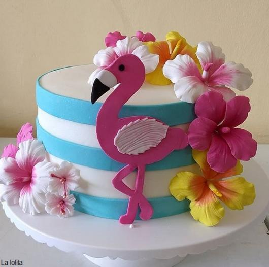 bolo flamingo pasta americana