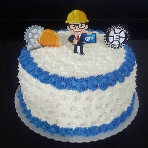 bolo de formatura engenharia