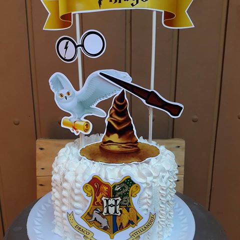 bolo harry potter chantilly