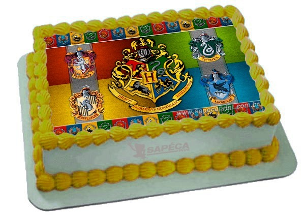 bolo harry potter papel arroz