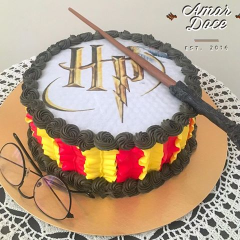 bolo harry potter chantininho