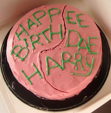 Bolo Harry Potter hagrid
