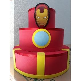 bolo homem de ferro fake