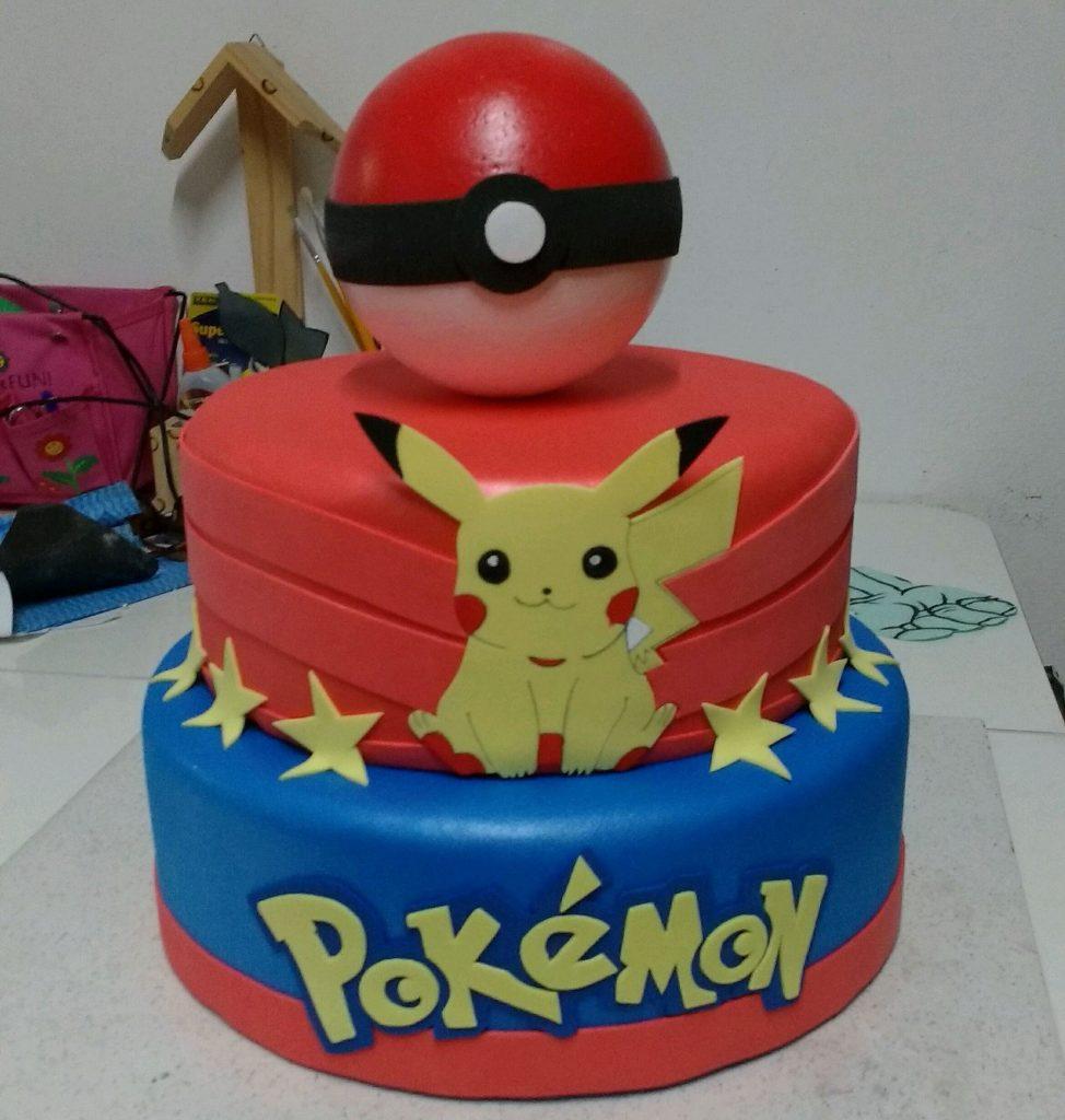 bolo pokemon 2 andares