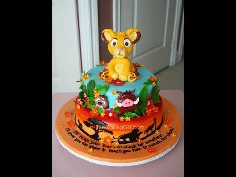 bolo rei leão pasta americana